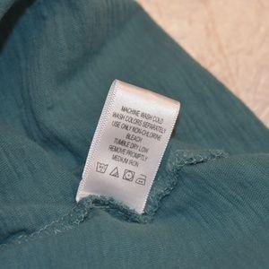Roaman's Tops - Roaman's 3x Teal Tabbed Sleeve Top